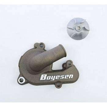 Carter de pompe a eau + helice magnesium BOYESEN pour HUSABERG, HUSQVARNA, FE, FC, FS KTM EXCF, SXF 127051 BOYESEN 229,90€