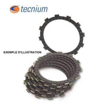 Disque d'embrayage garnis TECNIUM pour GAS GAS EC450F YAMAHA WR450F, YZ450F, YZ250, WR250 114029 TECNIUM 67,90€