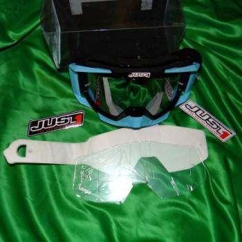 Masque, lunette JUST1 Iris Neon noir bleu 431393 JUST1 79,90€