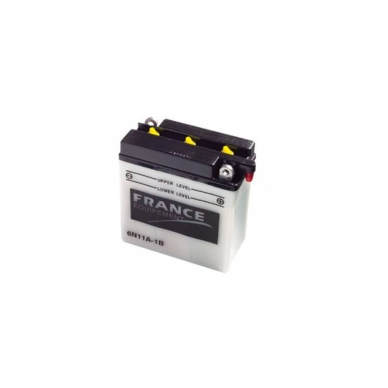 Batterie France Equipement 6N11A-1B 6N11A-1B FRANCE EQUIPEMENT 36,18€