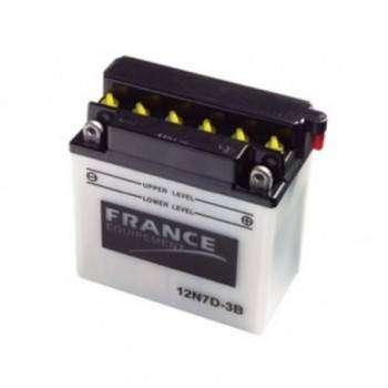 Batterie France Equipement 12N7-4B 12N7-4B FRANCE EQUIPEMENT 50,22€