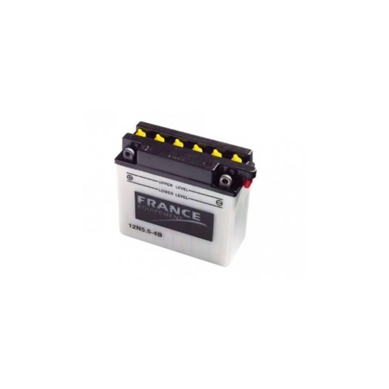 Batterie France Equipement 12N5.5-4B 12N5.5-4B FRANCE EQUIPEMENT 40,08€