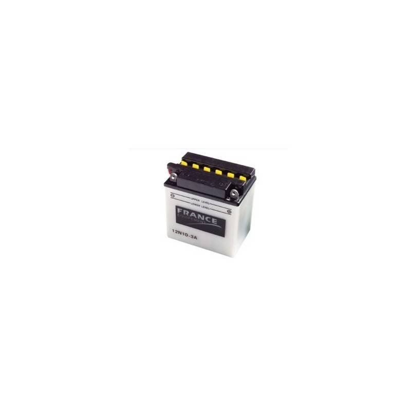 Batterie France Equipement 12N10-3A 12N10-3A FRANCE EQUIPEMENT 52,75 €