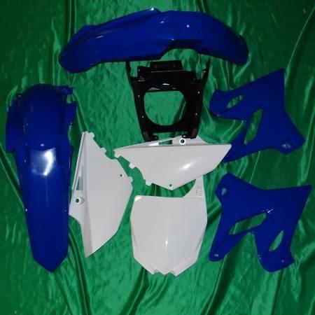 Kit plastique carénage POLISPORT pour YAMAHA YZ 125 et 250 de 2002 à 2018