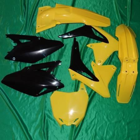 Kit plastique carénage POLISPORT pour SUZUKI RMZ 450 de 2008 à 2017