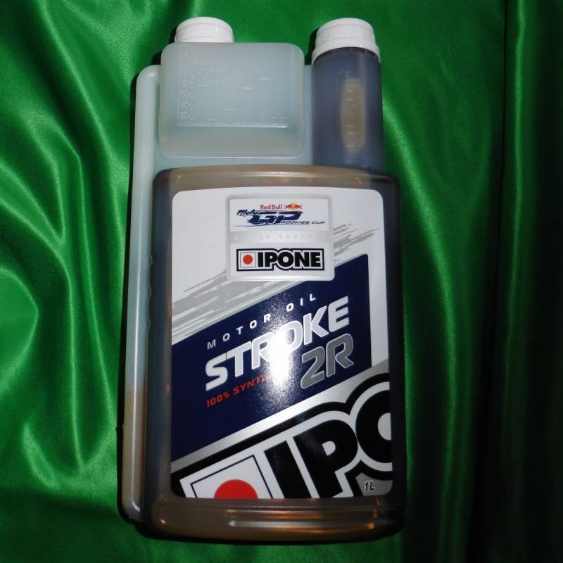 Huile moteur 2 temps IPONE STROKE 2R 1 litre 800088 IPONE 19,90€
