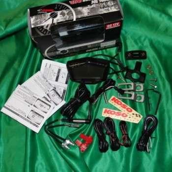 Compteur de KOSO DB-02 multifonction noir universel 442671 KOSO 169,90€