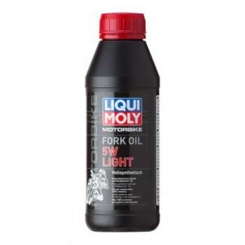 Huile de fourche LIQUI MOLY 1 Bidon de 5L Motorbike Fork Oil 5W Light LM.5951 LIQUI MOLY 67,30€