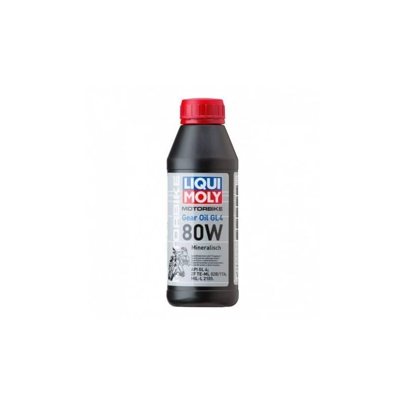 Huile de Boîte Minérale LIQUI MOLY 500ml Motorbike Gear Oil 80W LM.5928 LIQUI MOLY 10,80€