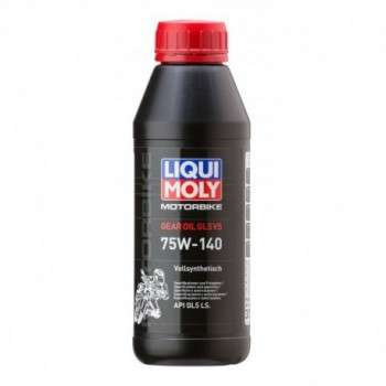 Huile de Boîte 100% Synthèse LIQUI MOLY 500ml Motorbike Gear Oil 75W140 GL5 VS LM.5926 LIQUI MOLY 29,80€