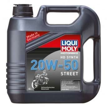 Huile Moteur 4T 100% Synthèse LIQUI MOLY 20W50 1 Bidon de 20L Motorbike 4T Synth Street HD 20 W 50 LM.3818 LIQUI MOLY 373,40€