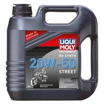 Huile Moteur 4T 100% Synthèse LIQUI MOLY 20W50 1L Motorbike 4T Synth Street HD 20 W 50 LM.3816 LIQUI MOLY 24,30€