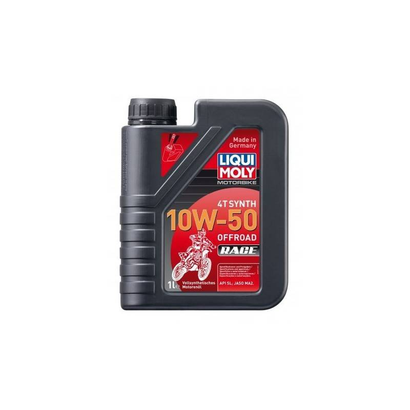 Huile Moteur 4T 100% Synthèse Tout Terrain LIQUI MOLY 10W50 1L Motorbike 4T Synth 10 W 50 Offroad Race LM.3051 LIQUI MOLY 19,...