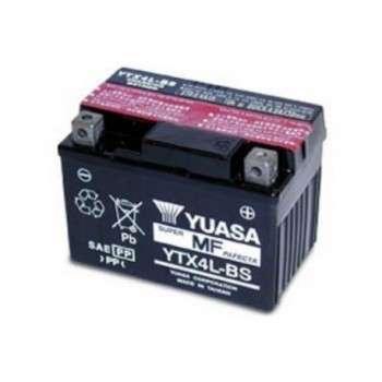 Batterie YUASA YTX4L-BS YTX4L-BS YUASA 35,59€