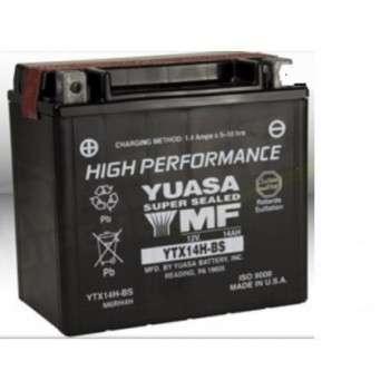 Batterie YUASA YTX14H-BS YTX14H-BS YUASA 157,00€