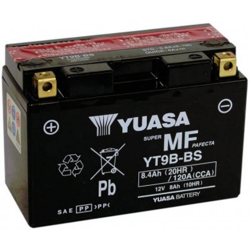 Batterie YUASA YT9B-BS (YT9B-4) YT9B-BS YUASA 125,30€