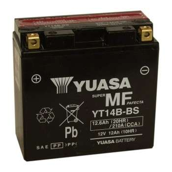 Batterie YUASA YT14B-BS (YT14B-4) YT14B-BS YUASA 151,15€