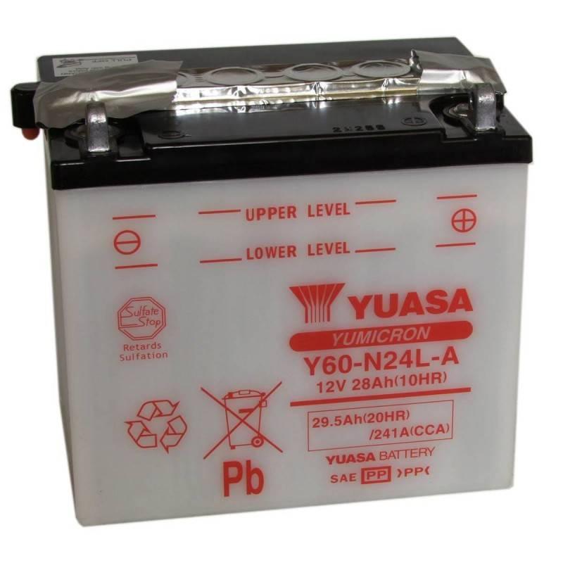 Batterie YUASA Y60-N24L-A Y60-N24L-A YUASA 133,59€