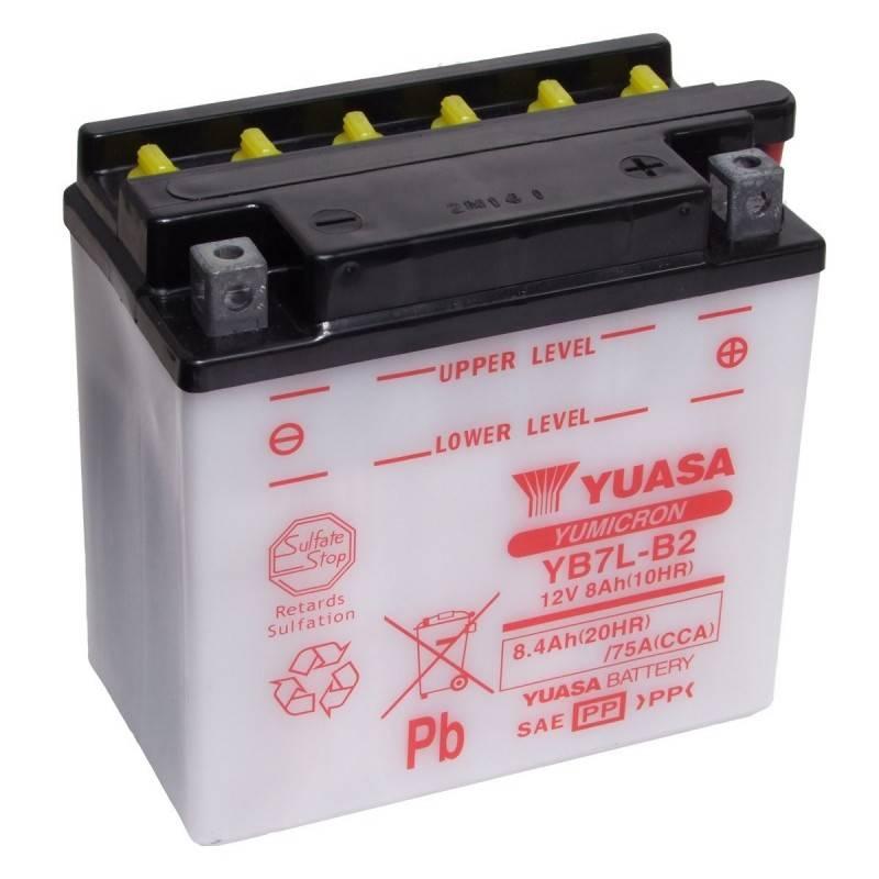 Batterie YUASA YB7L-B2 YB7L-B2 YUASA 50,71€