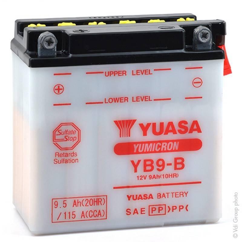 Batterie YUASA YB9-B YB9-B YUASA 44,37€