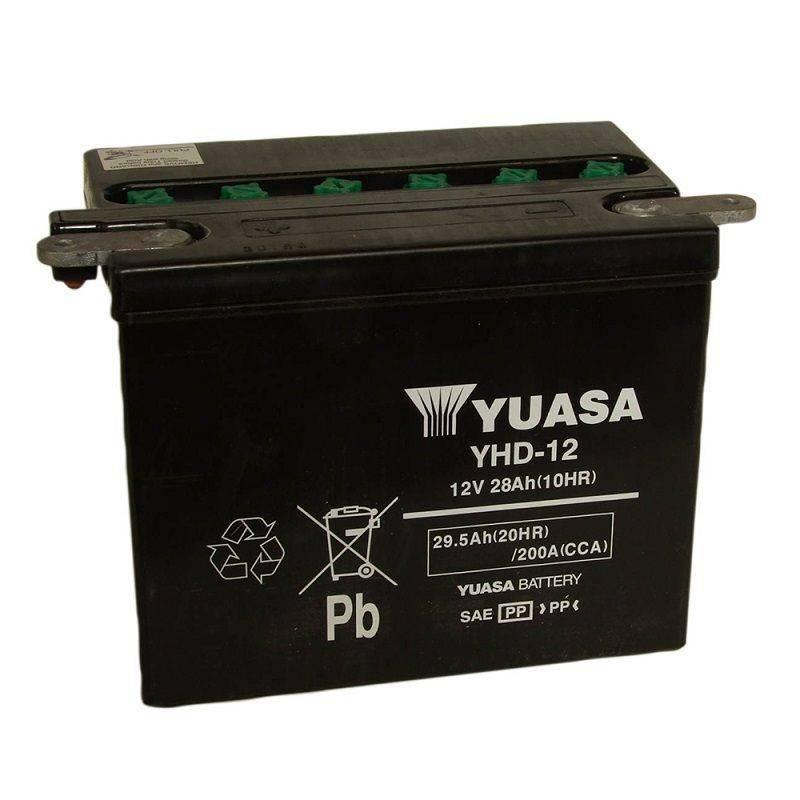 Batterie YUASA YHD-12 YHD-12 YUASA 135,54€