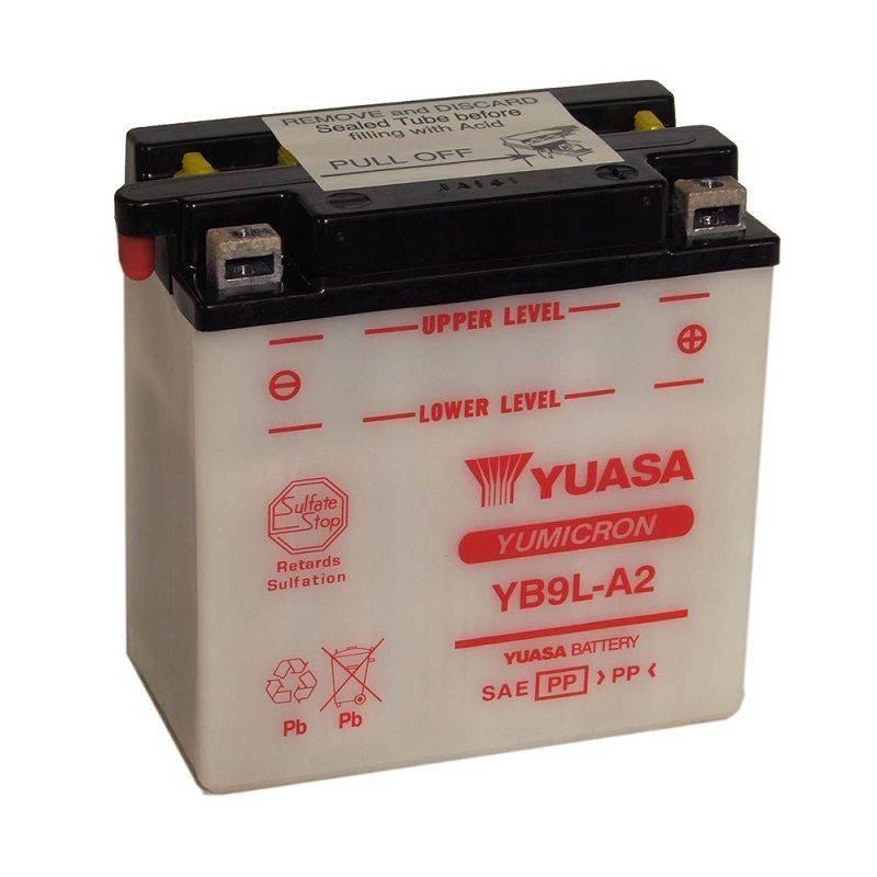 Batterie YUASA YB9L-A2 YB9L-A2 YUASA 61,92€