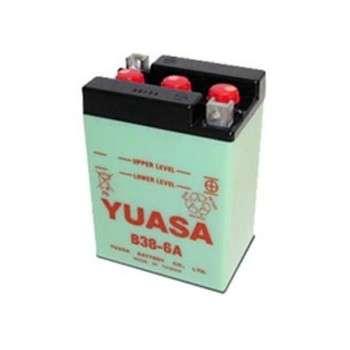 Batterie YUASA B38-6A YB38-6A YUASA 52,66€