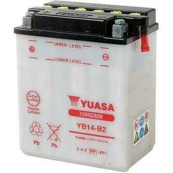Batterie YUASA YB14-B2 YB14-B2 YUASA 71,18€