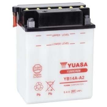 Batterie YUASA YB14A-A2 YB14A-A2 YUASA 76,06€