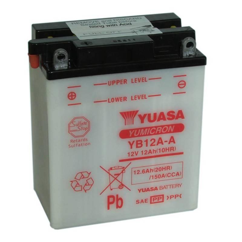 Batterie YUASA YB12A-A YB12A-A YUASA 63,87€