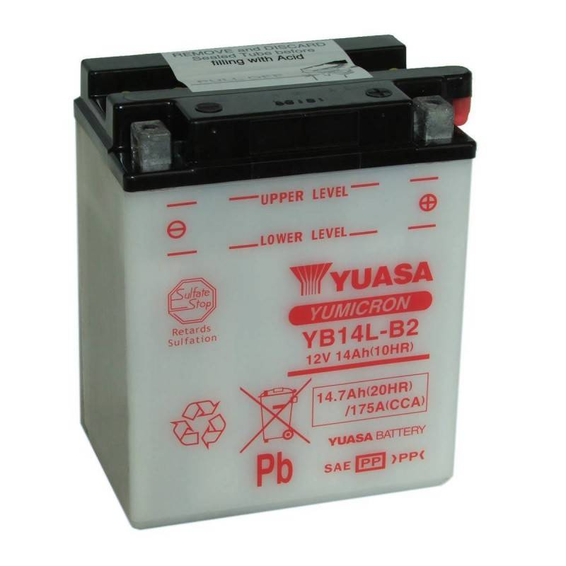 Batterie YUASA YB14L-B2 YB14L-B2 YUASA 70,21€