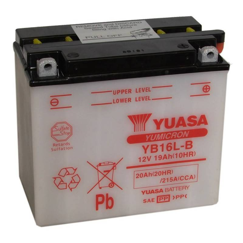 Batterie YUASA YB16L-B YB16L-B YUASA 121,40€