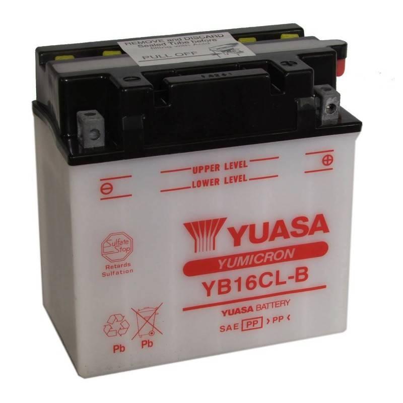 Batterie YUASA YB16CL-B YB16CL-B YUASA 135,54€
