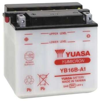 Batterie YUASA YB16B-A1 YB16B-A1 YUASA 112,14€