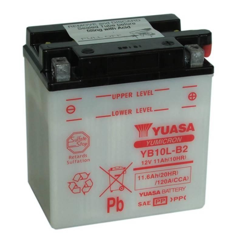 Batterie YUASA YB10L-B2 YB10L-B2 YUASA 65,82€
