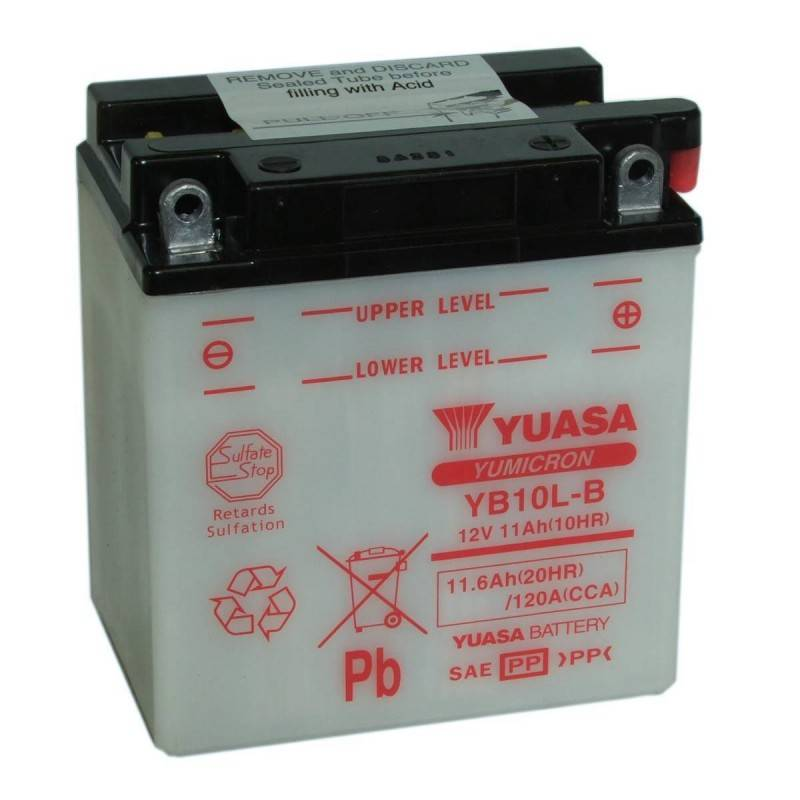 Batterie YUASA YB10L-B YB10L-B YUASA 63,87€