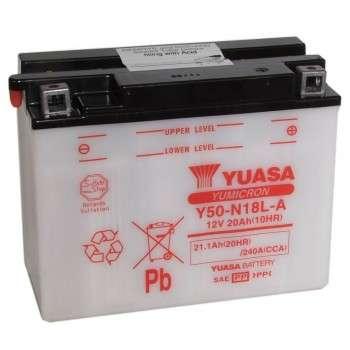 Batterie YUASA Y50-N18L-A Y50-N18L-A YUASA 120,43€