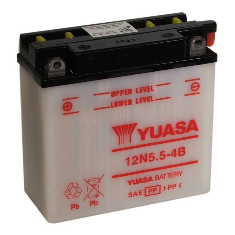 Batterie YUASA 12N5.5-4B Y12N5.5-4B YUASA 38,03€