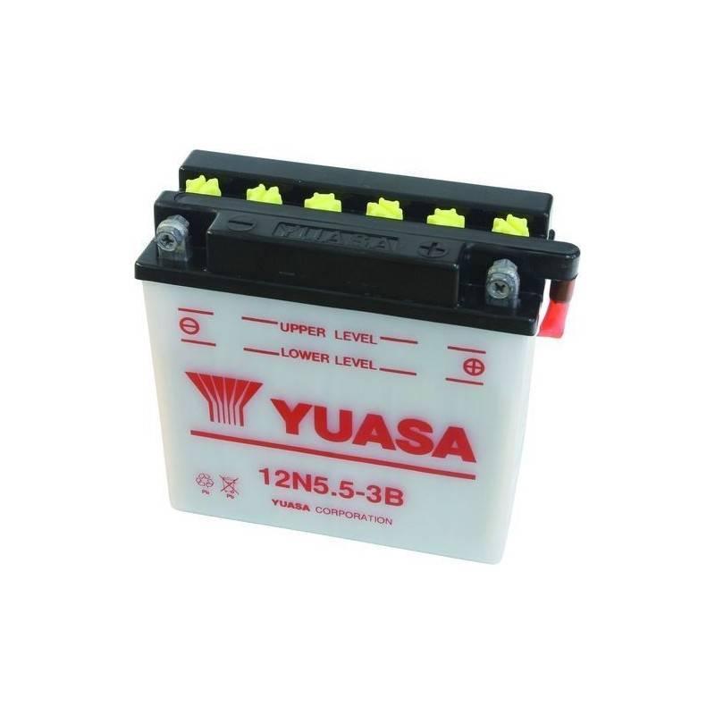 Batterie YUASA 12N5.5-3B Y12N5.5-3B YUASA 38,03€