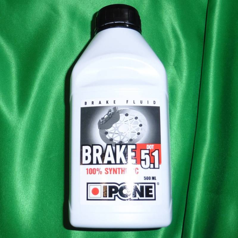 Liquide de frein IPONE Brake 5.1 DOT 5 500ml 800224 IPONE 9,99€