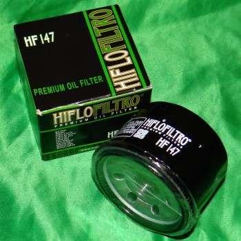 Filtre a huile HIFLO FILTRO pour YAMAHA YFM Raptor, KYMCO MXU,... HF147 HIFLO FILTRO 7,90€
