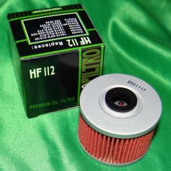 Filtre a huile HIFLO FILTRO pour HONDA, KAWASAKI, GAS GAS,... HF112 HIFLO FILTRO 3,90€