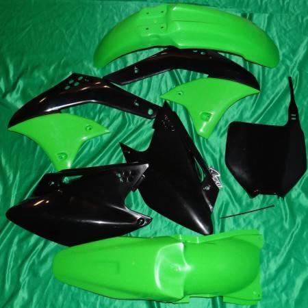 Kit plastiques UFO pour KAWASAKI KXF 250 de 2008
