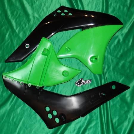 Ouies de radiateur UFO pour KAWASAKI KXF 250cc de 2006 à 2008