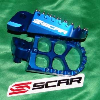 Repose-pieds SCAR Evo pour GAS GAS EC, YAMAHA YZF, YZ, 125, 250, 400, 450 442143 SCAR 99,90€