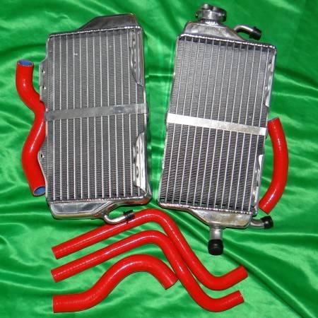 Paire de radiateur avec durite pour HONDA CR 125 de 2001 à 2002