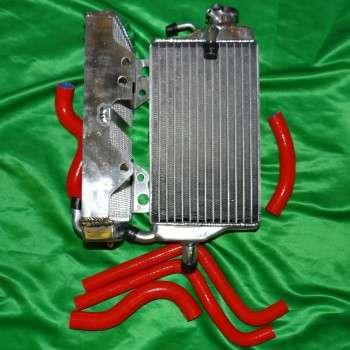 Paire radiateur et durite rouge pour HONDA CR 125 de 2002 à 2002