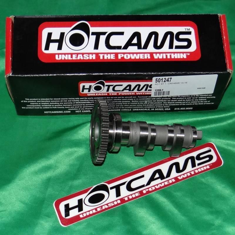 Arbre a cam HOT CAMS stage 1 pour HONDA CRF 450cc de 2010 à 2016 1259-1 HOT CAMS 259,90€