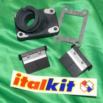 Clapet ITALKIT double toit V force pour KTM 65cc
