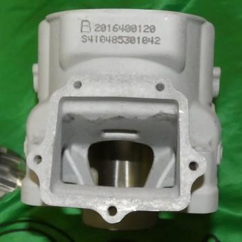 Photo du cylindre coter admission ATHENA BIG BORE Ø72mm 300cc pour YAMAHA YZ 250 de 2003 à 2021